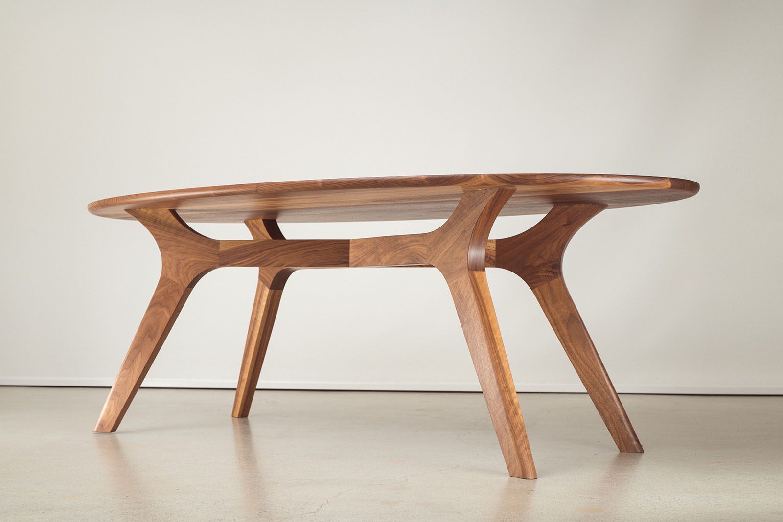 Franklin Dining Table, Oval - Jay Miron Custom Handmade ...