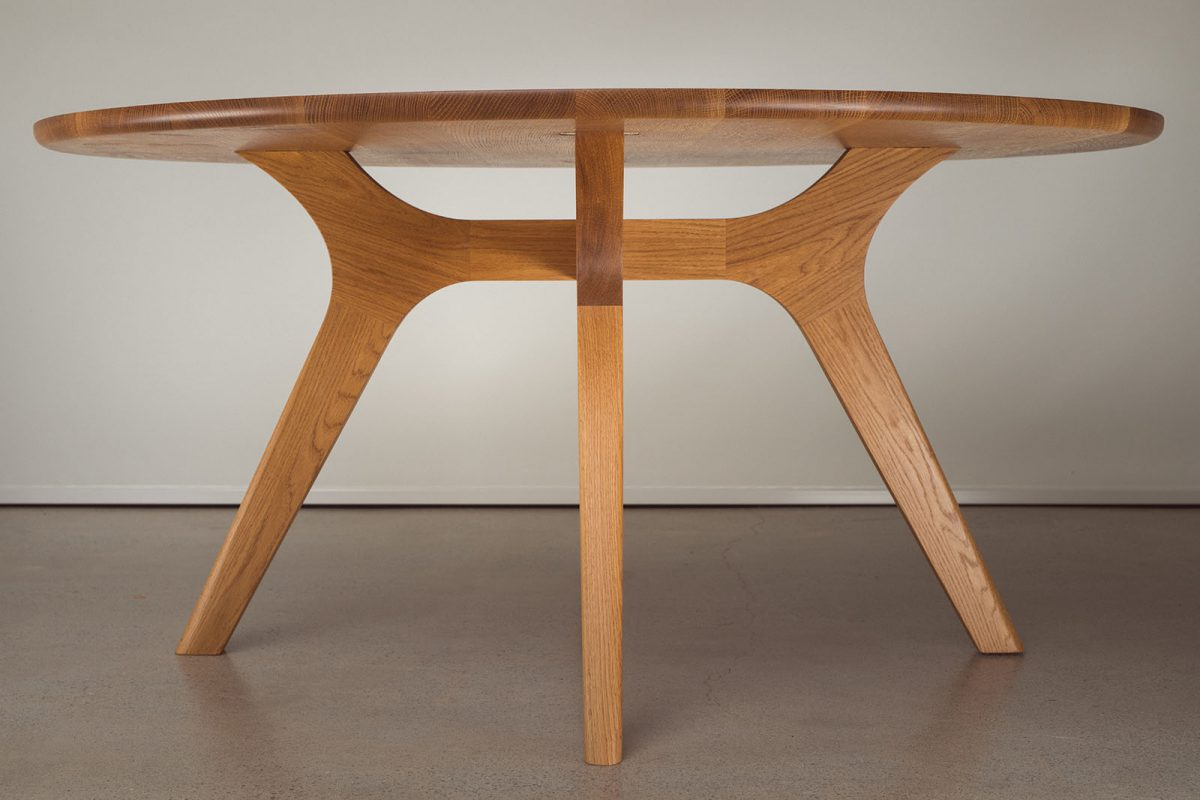 Franklin Dining Table, Round