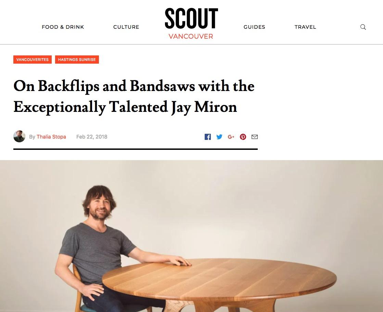 Jay Miron Media - Scout Magazine