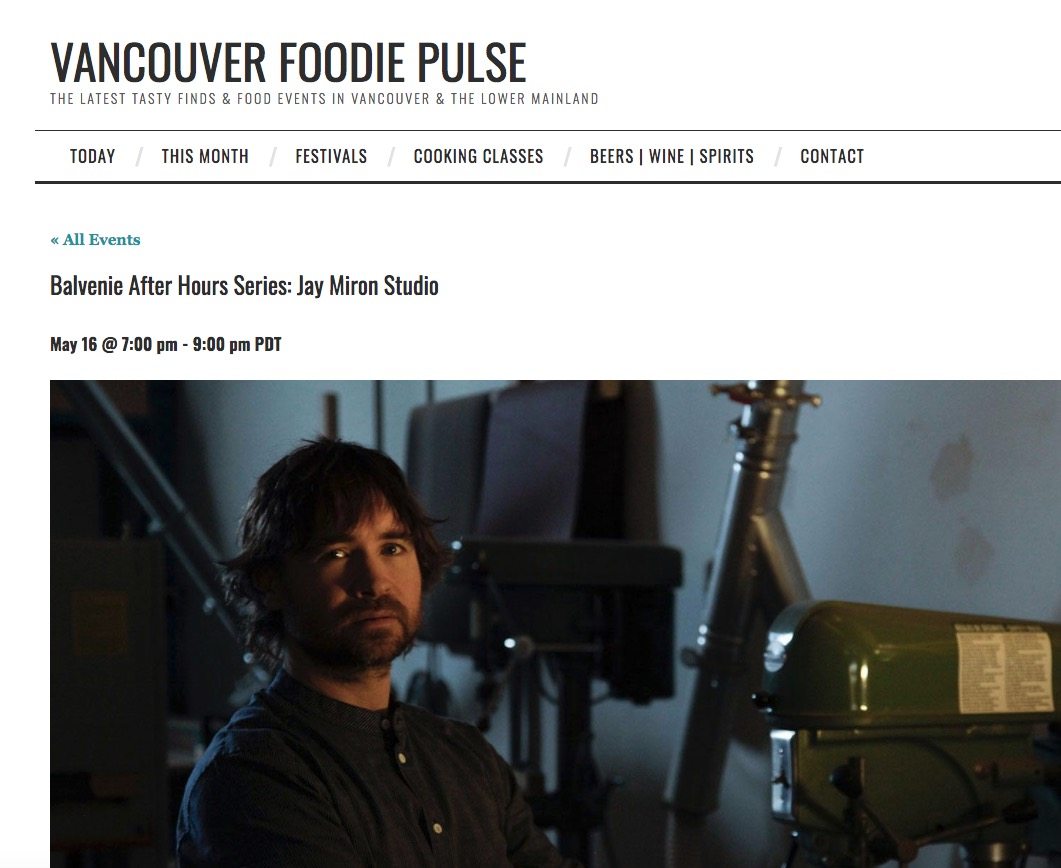 Jay Miron Media - Vancouver Foodie Pulse