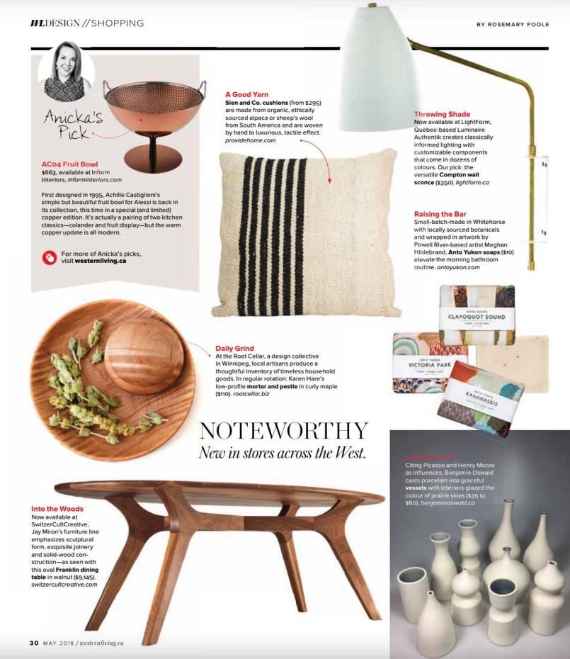 Jay Miron Media - WL Design - Franklin Dinning Table
