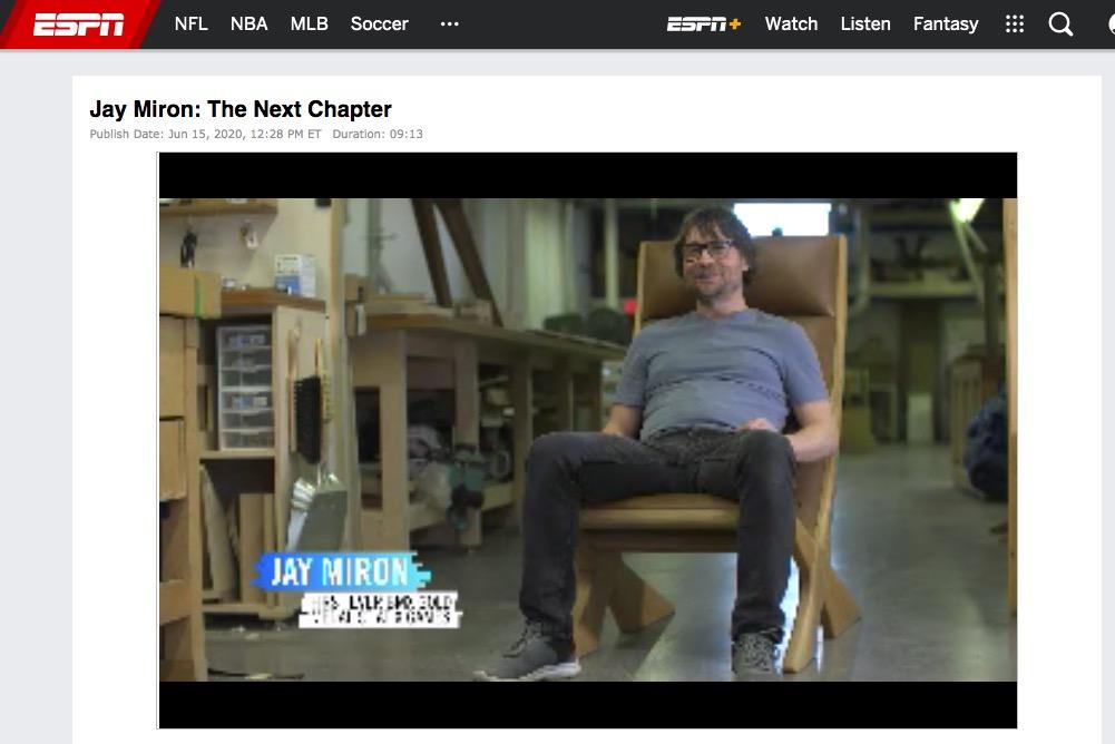 Jay Miron Media - ESPN: The next chapter