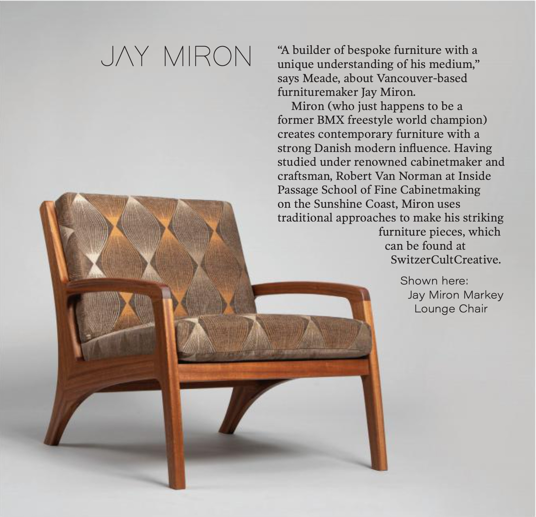 Jay Miron Media - YAM Magazine